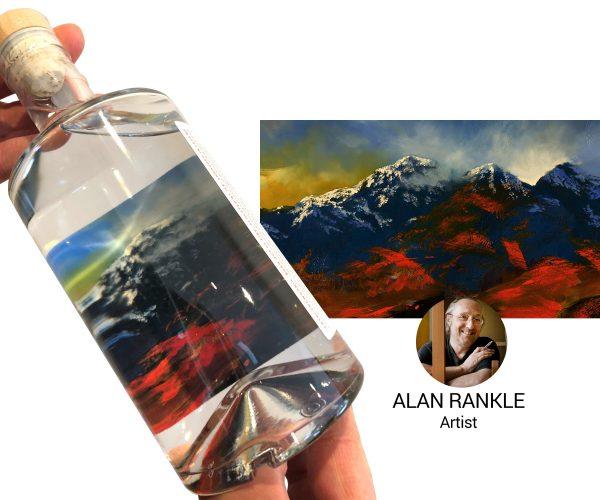 snowdonia gin, Alan Rankle, artist
