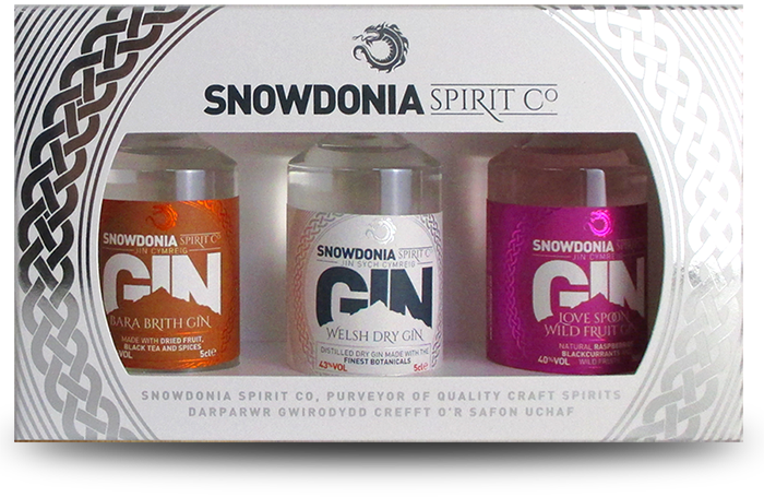 miniature gin gift set