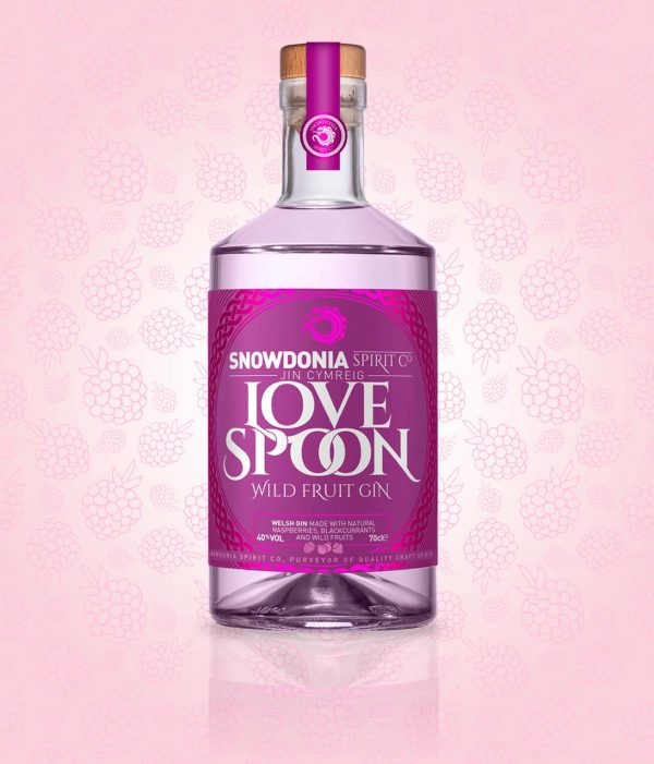 love spoon, wild fruit gin
